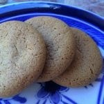 homemade ginger snaps