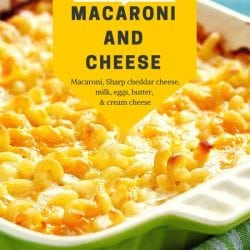 Southern Homemade Baked Macaroni And Cheese Recipe Yumm