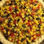 Black Bean Tart – Vegetarian Recipe