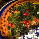 Spinach Quiche Recipe – Vegetarian