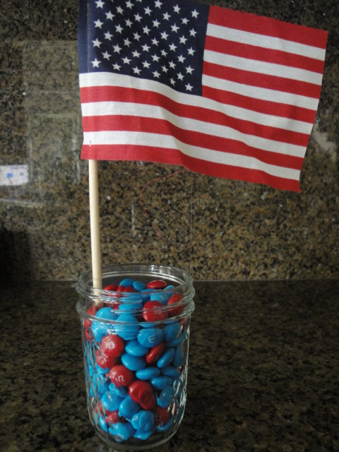Cheap Health Insurance >> Fourth of July Centerpiece