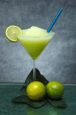 ... the last days of summer sipping a frozen margarita on a beach in the