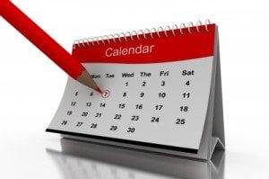 shopping calendar