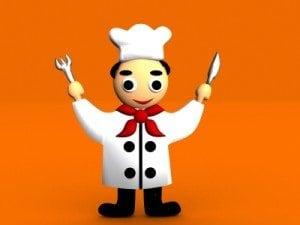 teaching children to cook