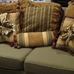 bow-tied pillows