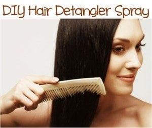hair detangler recipe