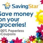 SavingStar Digital Grocery Coupons – nothing to clip, nothing to print!