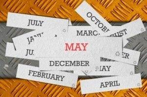 may shopping calendar