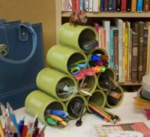 craft projects with recycled cans