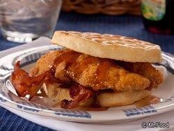 Chicken Waffle Sandwich