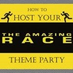 Amazing Race Birthday Party Ideas