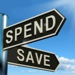 Are you on the corner of spend and save?