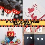 Mickey Mouse Theme Party on a Budget