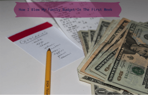 planning a family budget