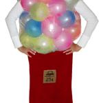 homemade gum ball machine costume