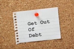 strategies to get out of debt