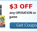 Coupons for Toys and Games