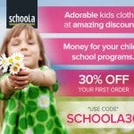 Schoola Stitch:  Gently-Used Kids Clothes + Money for Your School
