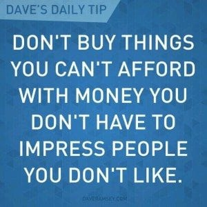 frugal quote