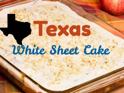 Cool White Texas Sheet Cake Recipe Personalised Birthday Cards Rectzonderlifede