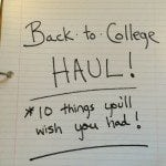 Back to College Shopping? 10 Things You'll Wish You Had