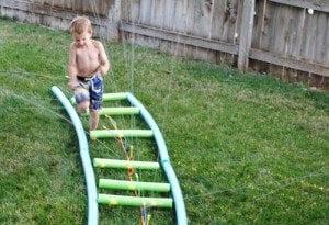 backyard disney party
