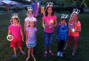 glowstick princess crown tutorial