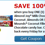 Free Almond Joy or Mounds Bar