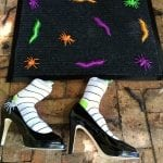 easy homemade halloween doormat