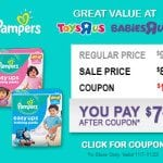 "Big Savings on Pampers at Babies ""R"" Us"