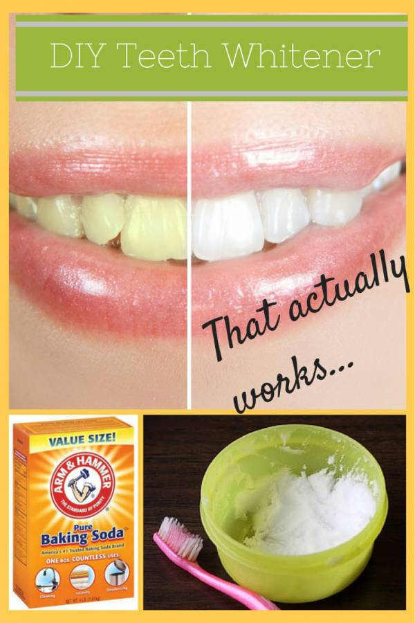 Use this DIY teeth whitener to shine up your teeth.  This all natural recipe is easy to make and apply.