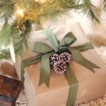 Festive and Frugal Gift Wrap – Kraft Paper