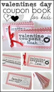 free printable valentines day coupon book for kids