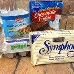 Hershey symphony bar brownie mix
