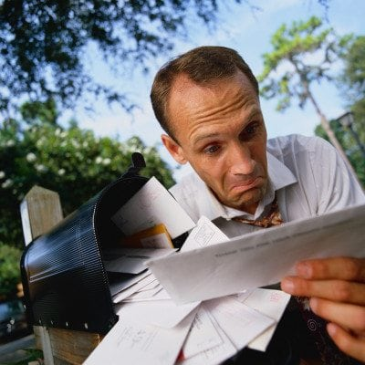 Man Confused About Mail
