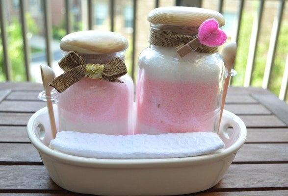 handmade bath salts