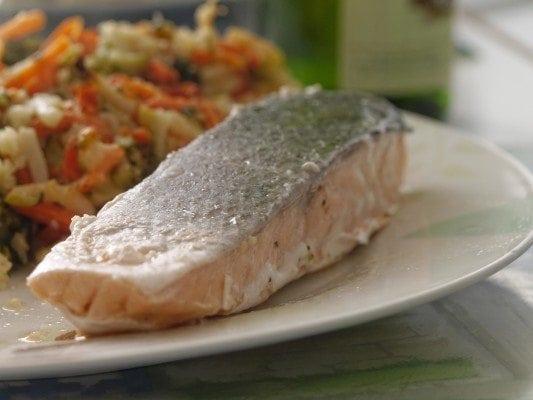 Salmon Natural Food