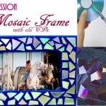 diy mosaic frame