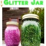 Diy glitter jar