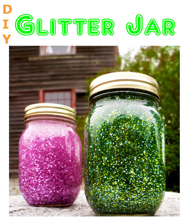 Add sparkle to your home with this super easy DIY glitter jar. It creates a relaxing effect that kids and adults can enjoy.