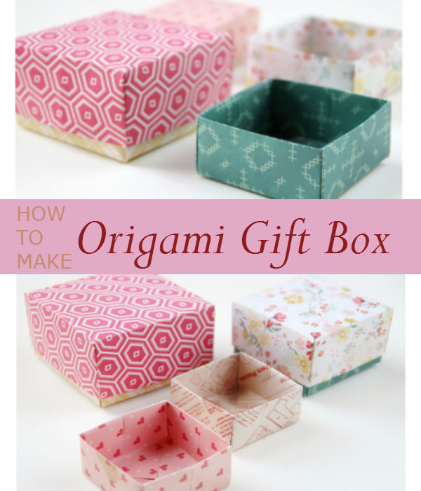 Want to give someone a special gift? Put it in a DIY origami gift box to make it more personal. Step by Step Tutorial.