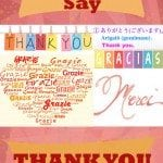 Cheap and Cheerful – 20 Different Ways of Saying Thank You!