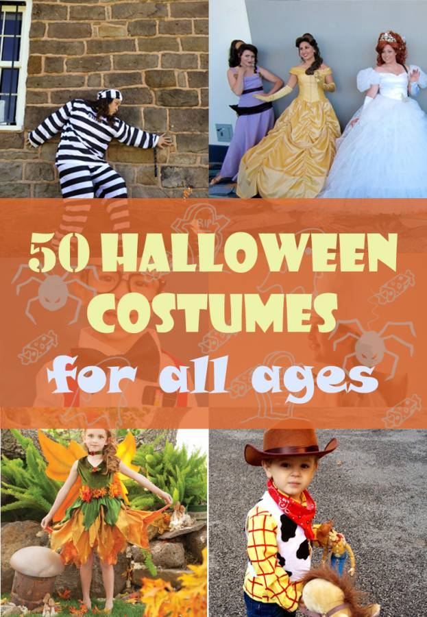 50 Easy Homemade Halloween Costumes