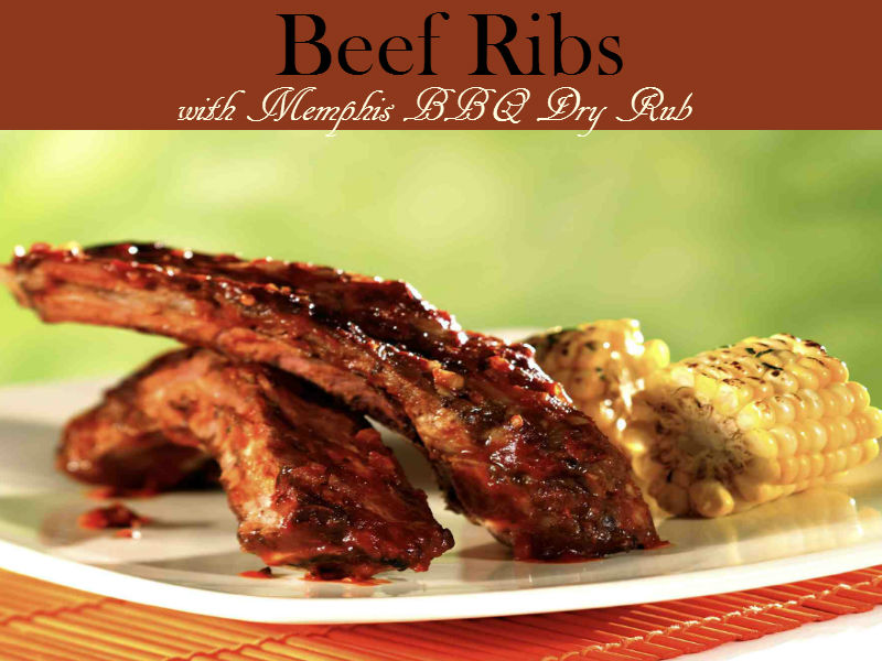 This oven-baked beef ribs is tender and delicious that your family will surely love. A melt-in-your-mouth meal that is unbelievably easy to make.