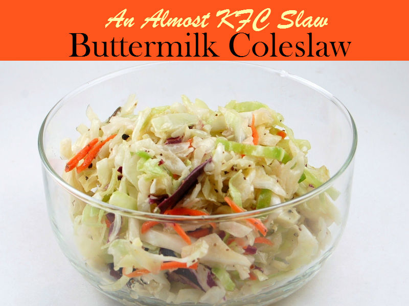 Buttermilk Coleslaw is a classic dish that nicely combines the sweet and tangy flavor of cabbage with other ingredients. Close to KFC Slaw, this side dish perfect heavy meals.
