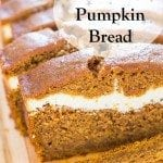 This is the best Pumpkin Bread! Once you try it, you'll never go back to plain pumpkin bread again! It looks fancy, but it's easy...I promise!