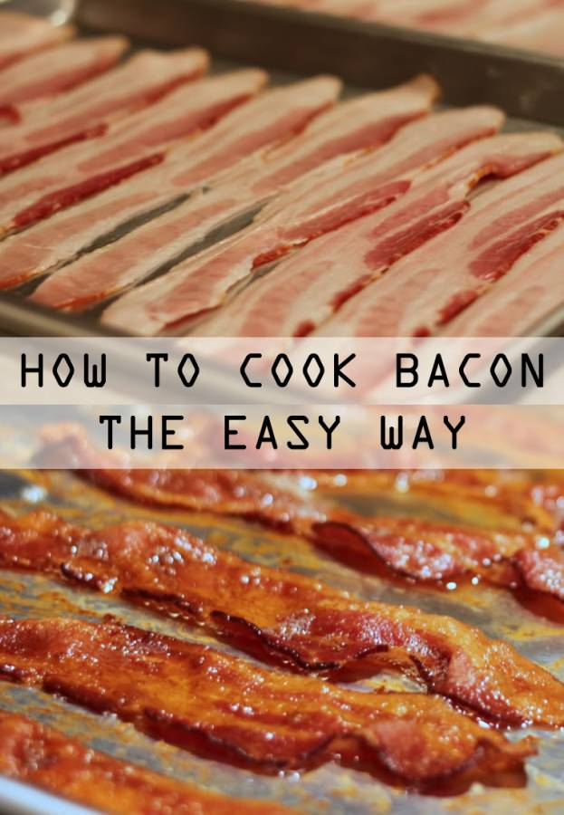 Oven Bacon Recipe The No Mess Way To Cook Bacon