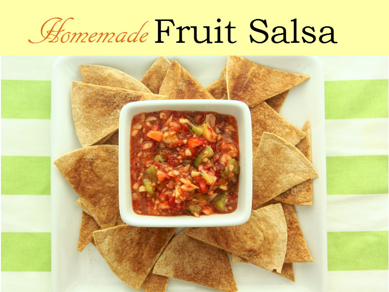 Perfectly paired with cinnamon chips, Fruit Salsa is a succulent treat that you will absolutely enjoy. A homemade mixture of fresh fruits guaranteed to be a crowd-pleaser.