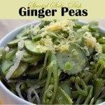 Ginger Peas