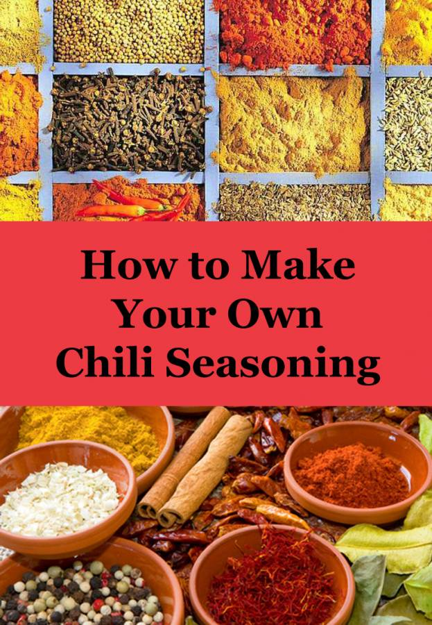 Make your own chili seasoning, and then cook up a batch of chili for your Super Bowl Party!